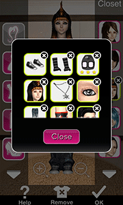 Click to Enlarge - Style Me Girl Level 19 - Joyce - Joyce - Closet