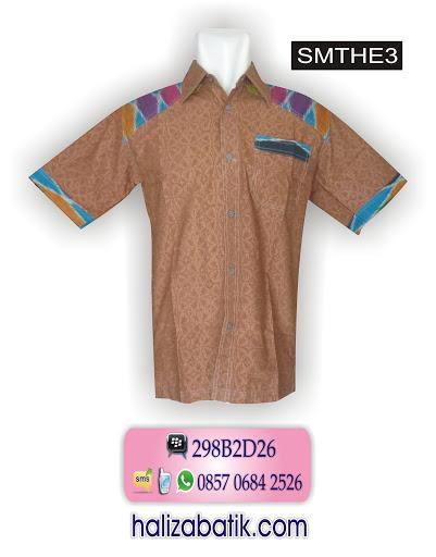model baju modern, model baju batik kerja, desain baju batik