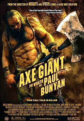 Filme Poster Axe Giant: The Wrath of Paul Bunyan WEBRip XviD & RMVB Legendado