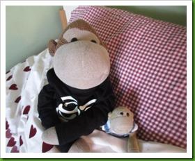 Lu's bed