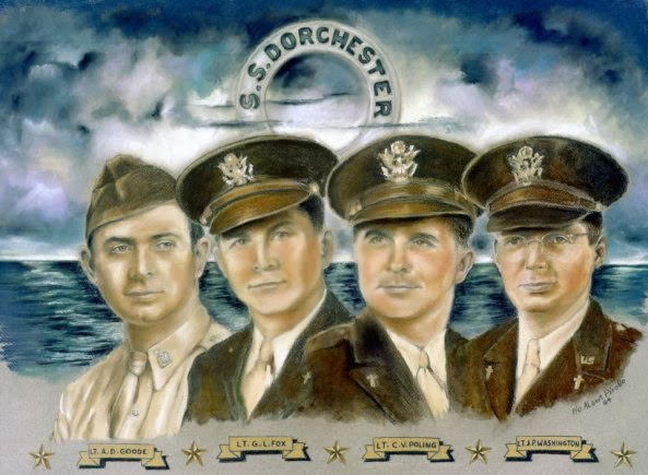 On Memorial Day, remember the Four Chaplains