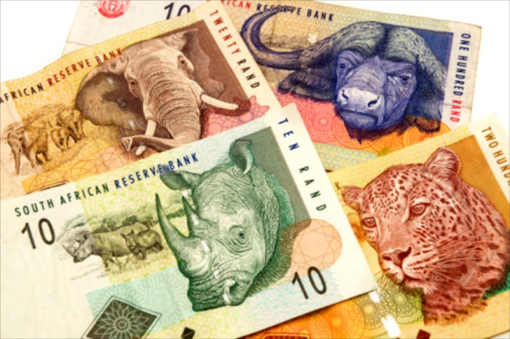 Rand hovers at $14 as global events keep the dollar under pressure