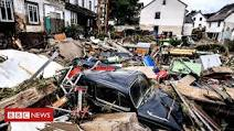 42 Dead While Dozens Missing As Floods Destroy Buildings; Leave Families Trapped on Rooftops In Germany