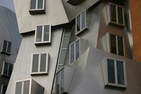 Windows of the Stata Center, MIT