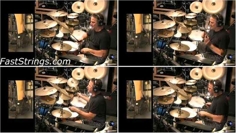 Mark Zonder - 2 Cameras, 5 Drums and 13 Tracks