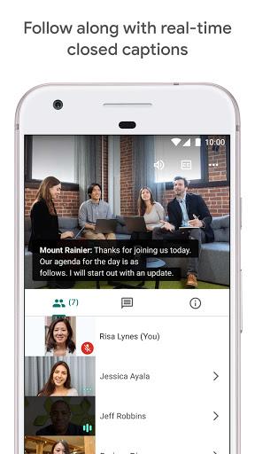Google Meet - Secure Video Meetings 44.5.324814572 Screenshots 5