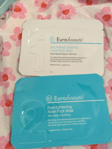 Eurobeauté 家用Salon級美療產品﹣毛孔淨化2 in 1去黑頭套裝