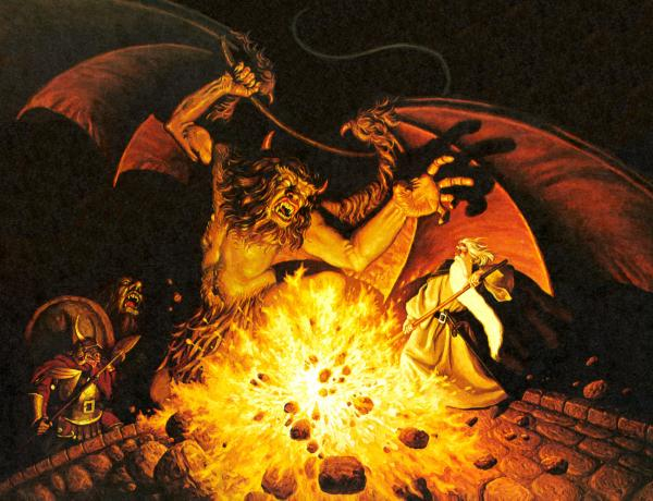 Lord Of The Ring Balrog, Wizards