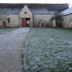 Site musée national de Port Royal des Champs : ferme des Granges, grange à blé