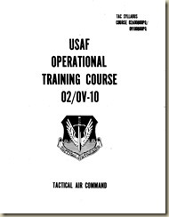 North American OV-10 Operational Training Course_01