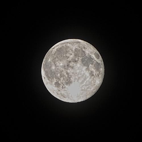 Full Moon over Brooklyn, July 2014 - photo by Vlad Grubman