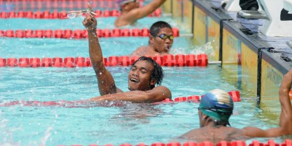 Agus Ngaimin Atlet Difabel Indonesia di Paralimpiade London 2012
