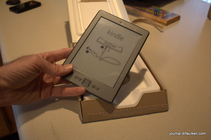 4th Generation Kindle 6″ eBook Reader With Special Offers First Impressions
