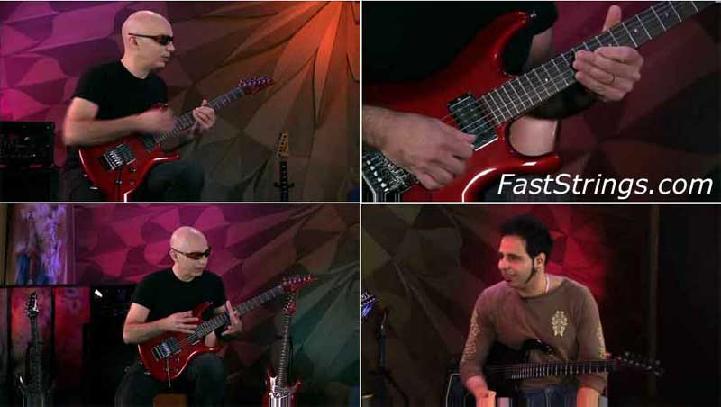 SatchZone - Joe Satriani Guitar Lessons