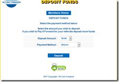50 cent fund deposit