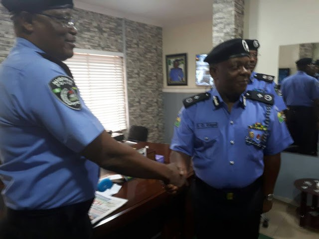 Photos Of New Lagos Commissioner Of Police, Imohimi Edgar As He Assumes Office