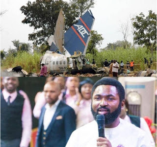 Popular Abuja Prophet Emmanuel Omale is indeed a Man Of God, See what he said about Abuja Plane Crash [Watch Video]