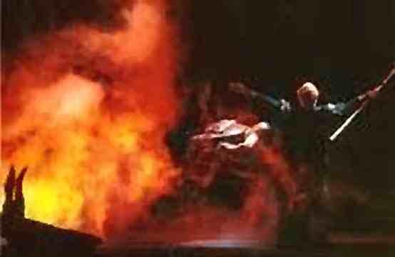 Wotan Summons Loge Magic Fire, Asatru Gods And Heroes