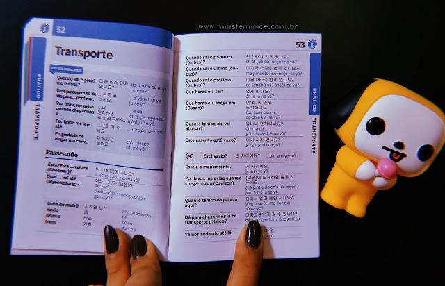 Livros para aprender coreano - Guia de conversação coreano