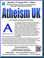 Atheism UK 12 August 2017