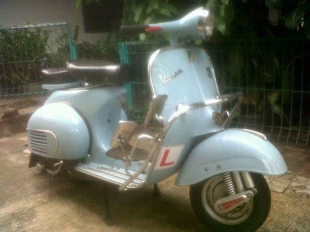 Dijual Vespa Antik Vbb1m Tahun 62 Sukabumi Lapak Motor Bekas