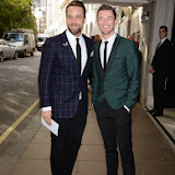 WWW.ENTSIMAGES.COM -   The Overtones   at          BBC Children in Need Gala Lunch at The Savoy, Strand, London                                               Photo Mobis Photos/OIC 0203 174 1069