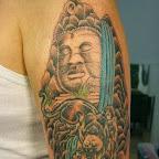 arm budda - Landscape Tattoos