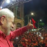 Ato da Caravana pela Democracia no Recife