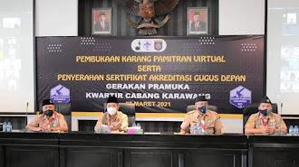 Penyerahan Akreditasi Gudep Gerakan Pramuka, Mutu Gudep Gerakan Pramuka Kwartir Cabang Karawang