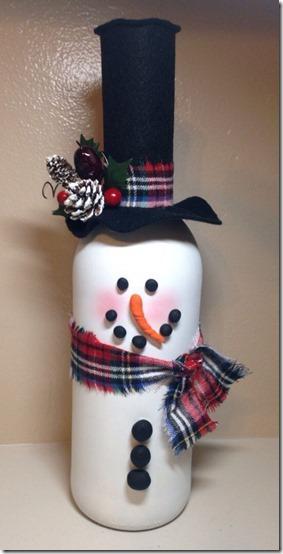 decorar botellas navidad todonavidad info (3)