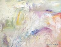 """Himmel"", Öl auf Leinwand, 90x70, 2005, verkauft"