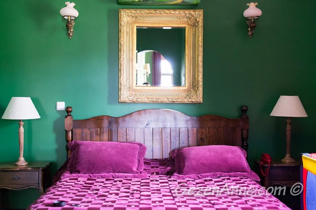 Suit oda yatak kısmı, Manici Kasrı