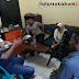 Lagak Jagoan Bawa Celurit dan Rantai, 4 Pelajar Ditangkap hingga Nangis di Polsek Cibadak