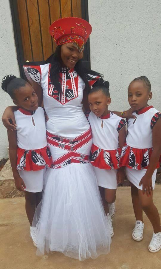 Swazi Traditional Wedding Dresses 2017 2018
