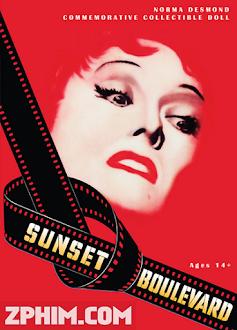 Đại Lộ Hoàng Hôn - Sunset Boulevard (1950) Poster