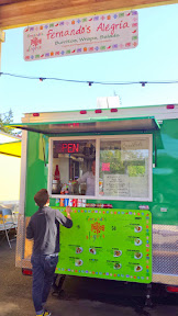 Portland Mercado has 8 carts in the food cart pod, where each food cart specializes in different Latin cuisine.Fernando's Alegria at Portland Mercado offers burritos and wraps