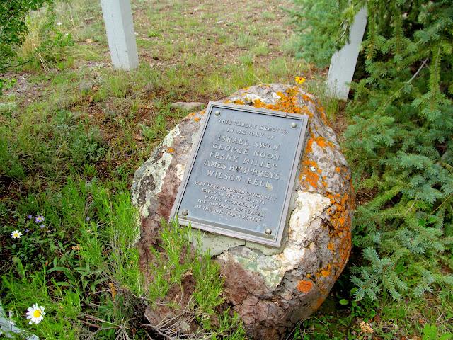 Memorial to the victims of Alferd Packer