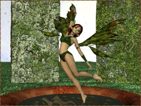 Little Green Fairy - Green Feedback On You!!!