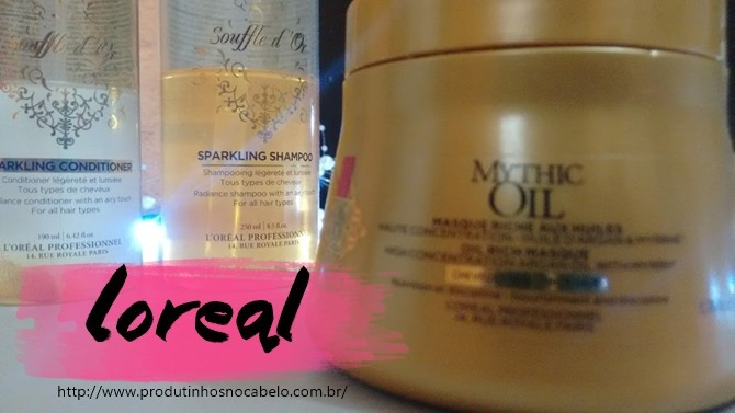Mythic Oil Loreal Máscara