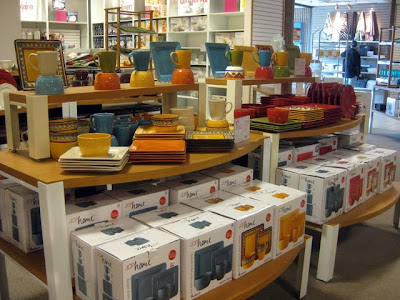 Display of JCP Home Products at JCPenney at the Lehigh Valley Mall in Whitehall, PA - Photo by Michelle Judd of Taste As You Go