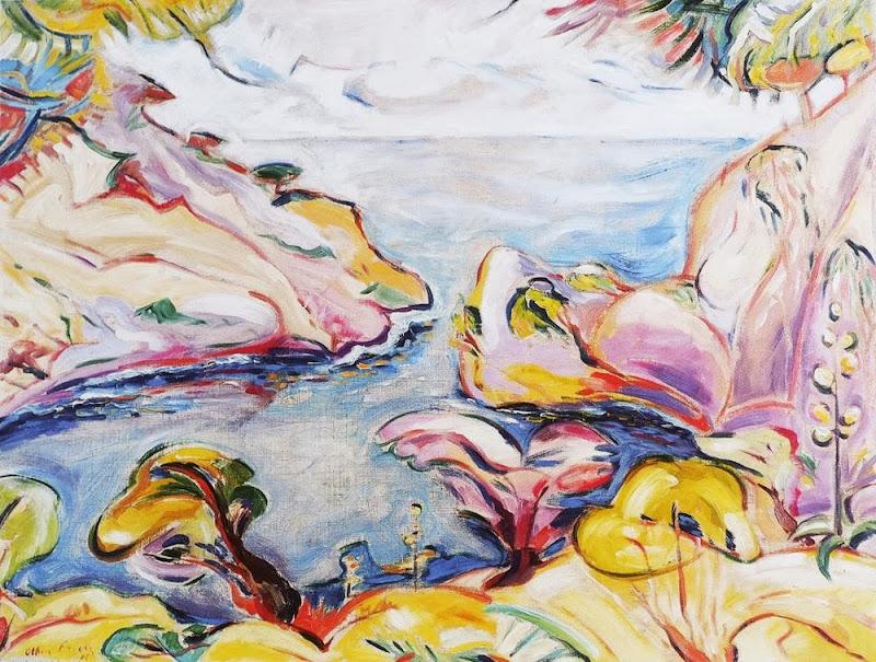 Othon Friesz - La calanque du Mugel à La Ciotat