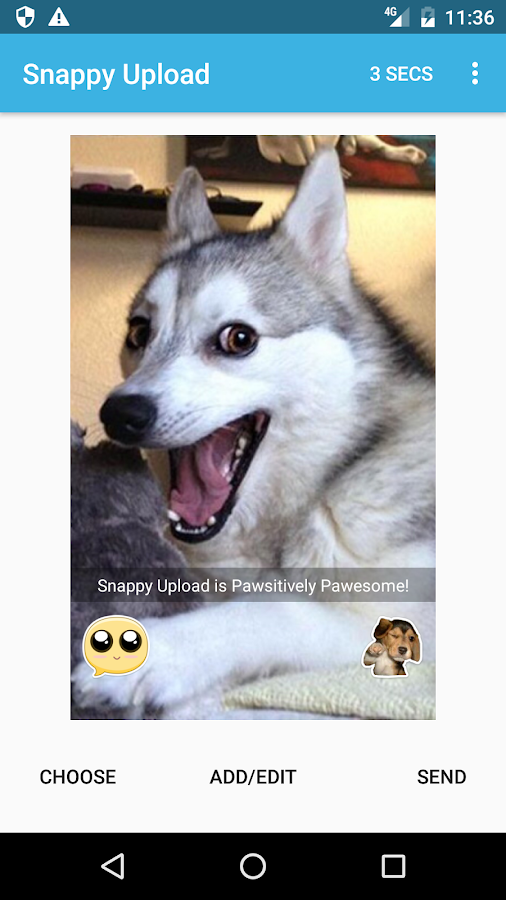 Snappy Upload- screenshot