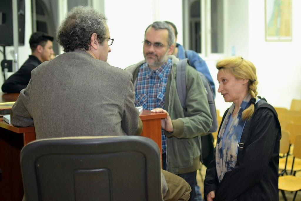 Conferinta Despre martiri cu Dan Puric, FTOUB 197