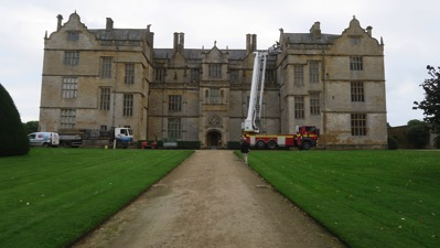 Montacute rear side