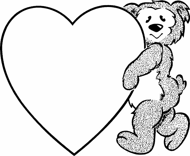 Valentines Printable Coloring Pages