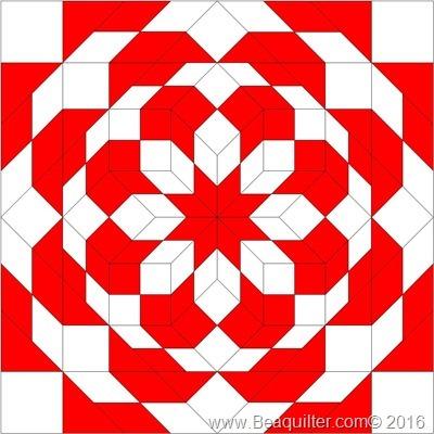 red white9