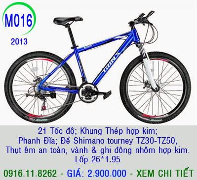 XE ĐẠP THỂ THAO, xe dap the thao, xe dap trinx, xe đạp thể thao chính hãng, xe dap asama,  M016 2013