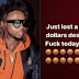 Yung6ix Cries About His Missing $1,000 Belt