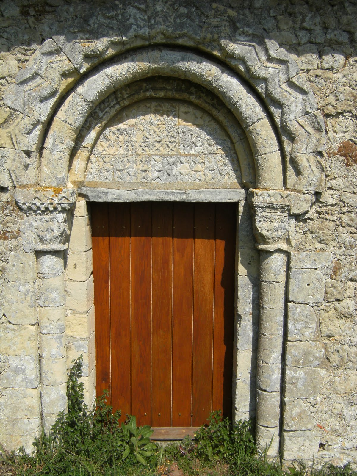 DSCF7422 Norman doorway on St Mary Magdalen Church, Ruckinge