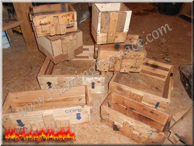 backyard metal casting setup information metal casting projects